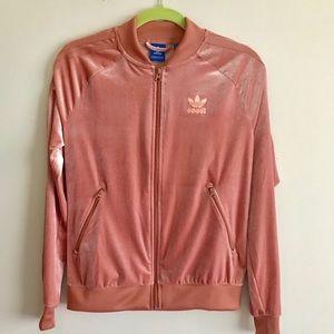 173d32b32ad adidas Jackets & Coats - Adidas VELOUR VELVET VIBES SST TRACK JACKET S